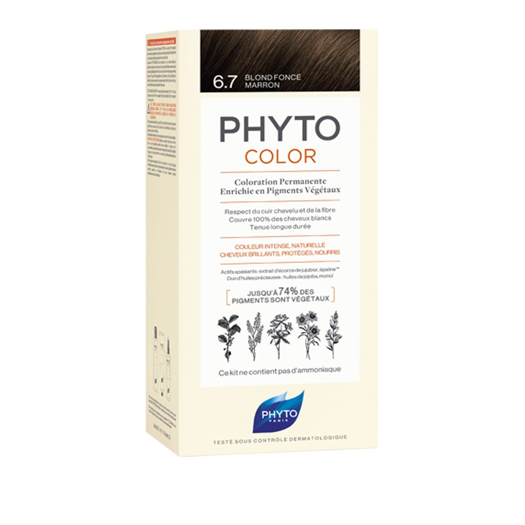PHYTOCOLOR 6.7 - RUBIO OSCURO CHOCOLATE