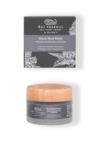 Mascarilla BLACK MUD Mask Boi Thermal