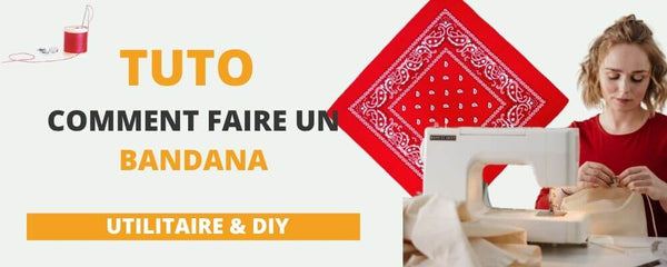 Comment faire un bandana Tutoriel royalbandana