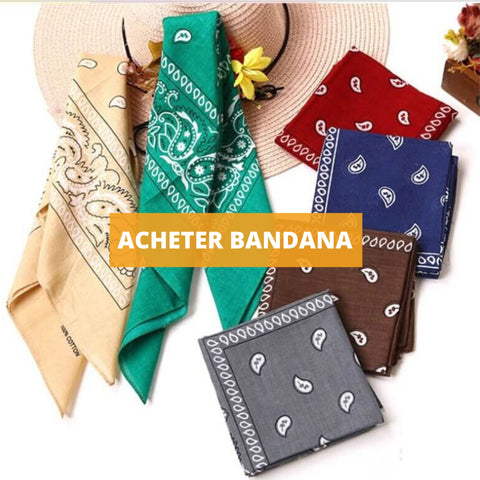 Bandana femme collection