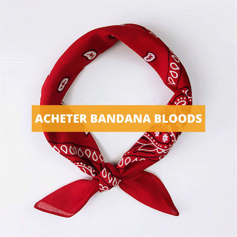 bandana rouge bloods royalbandana