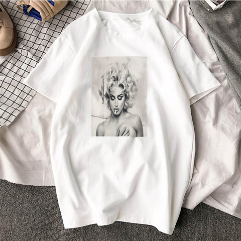 t-shirt madonna pin-up royalbandana