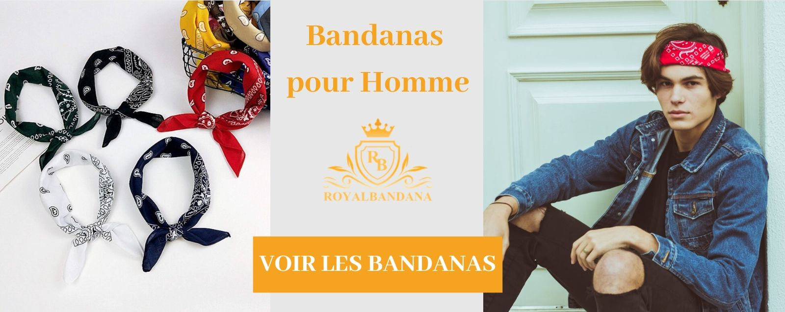 voir Collection Bandanas homme royalbandana