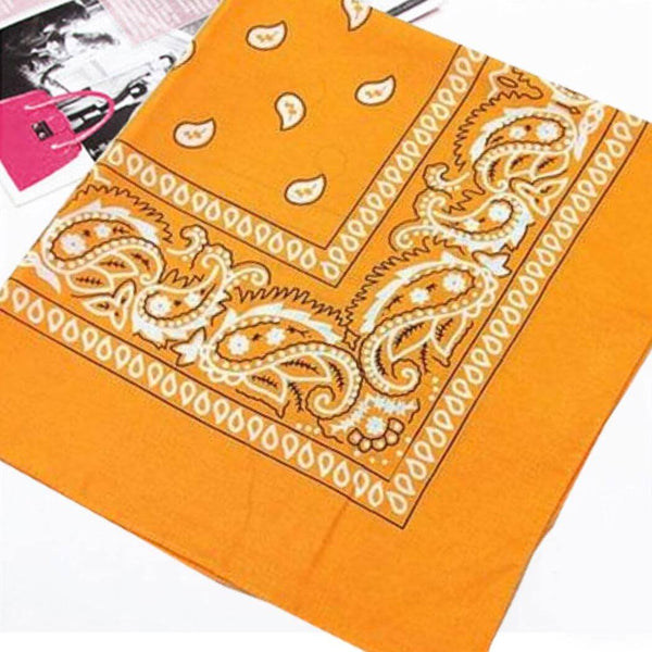 bandana orange royalbandana