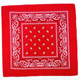 bandana rouge carré royalbandana