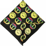 Bandana Smiley carré RoyalBandana
