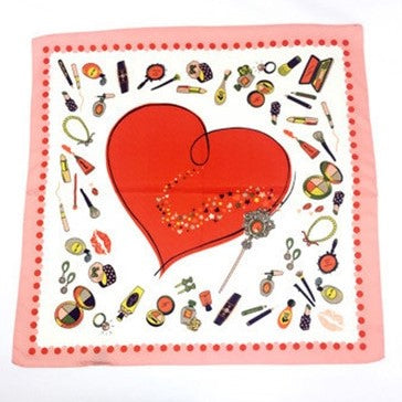 Bandana Love rouge carré RoyalBandana