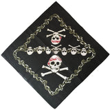Bandana Pirate Noir RoyalBandana