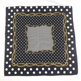Bandana Art Contemporain noir carré RoyalBandana