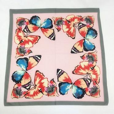 Bandana Papillon rose carré RoyalBandana