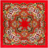 bandana rose majestueuse rouge