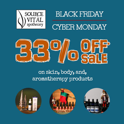 3 Reasons to Shop Source Vitál Apothecary's Black Friday/Cyber Monday Sale