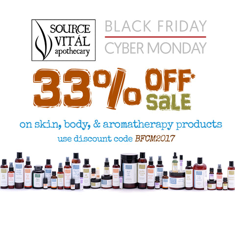 Save 33 At Source Vital Apothecary With Our Black Friday Cyber Monday