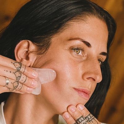 Video: How to Relieve Jaw Tension with Gua Sha Tutorial