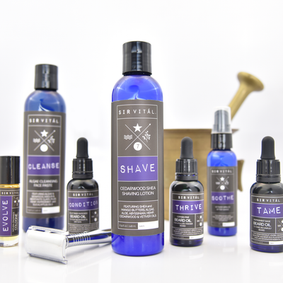 Introducing: Sir Vitál, Natural Grooming Products for Men