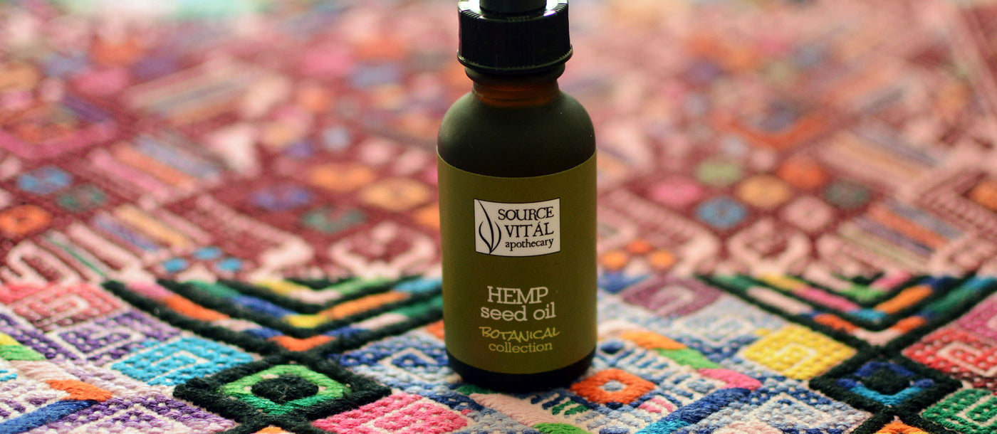 Skin Care and Body Products Made with Hemp