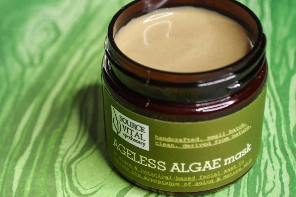 Ageless Algae Anti-Aging and Rejuvenating Facial Mask by Source Vital