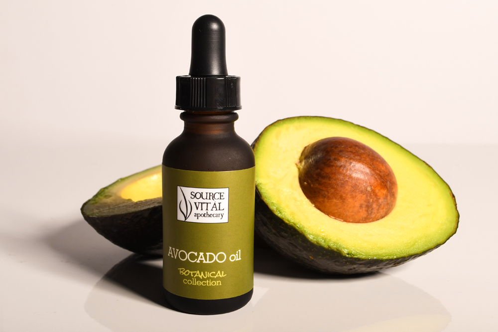 100% Pure Avocado Botanical Oil for skin, body, hair and nails by Source Vital Apothecary