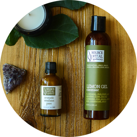Acne Facial Skin Care by Source Vital Apothecary