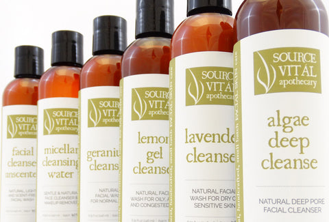 Natural Face Cleansers by Source Vitál Apothecary