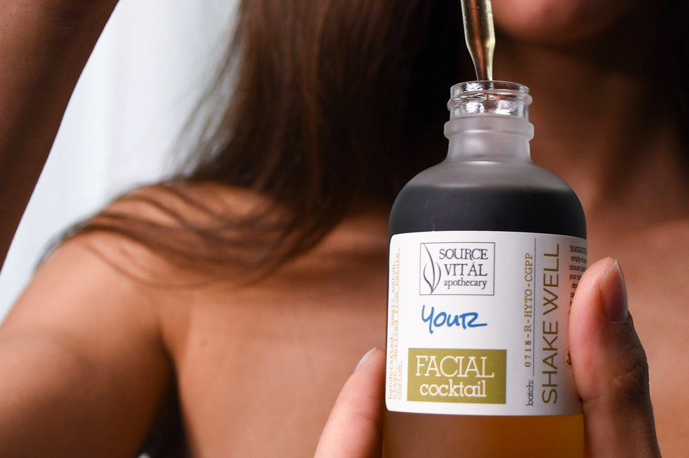 Customized Face Oil by Source Vital Apothecary