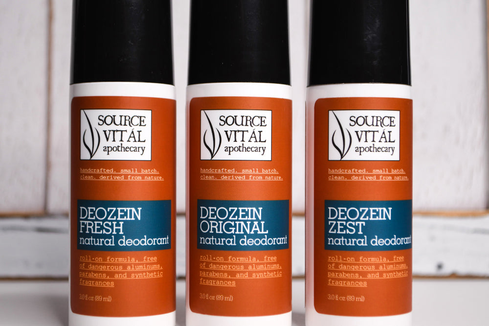 Deozein Natural Deodorant Roll-On by Source Vital