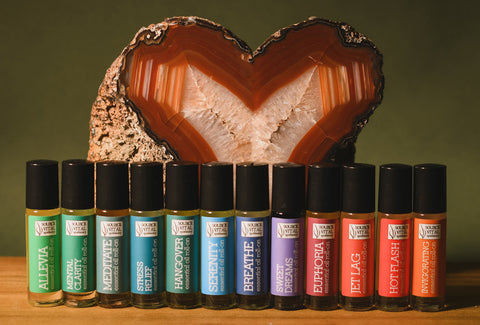 Essential Oil Roll-Ons to Care for the Mind. Body and Spirit