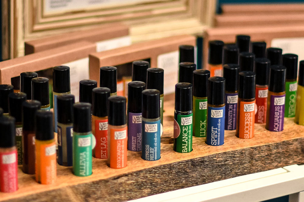 Essential Oil Roll-On rollerballs great stocking stuffers by Source Vital Apothecary