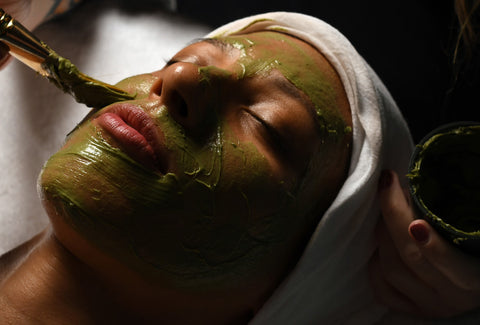 facial at Sanctuary Spa Houston
