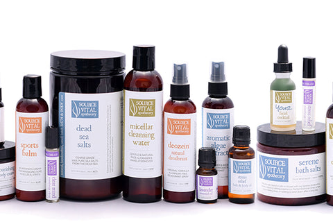 Source Vital Apothecary products