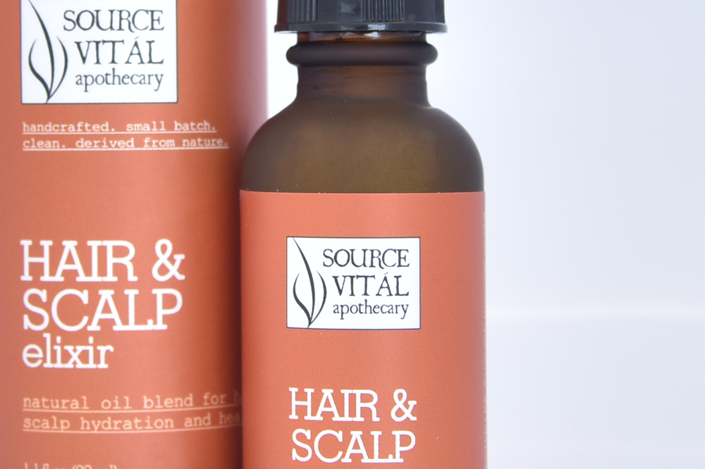 Hair and scalp elixir by source vital