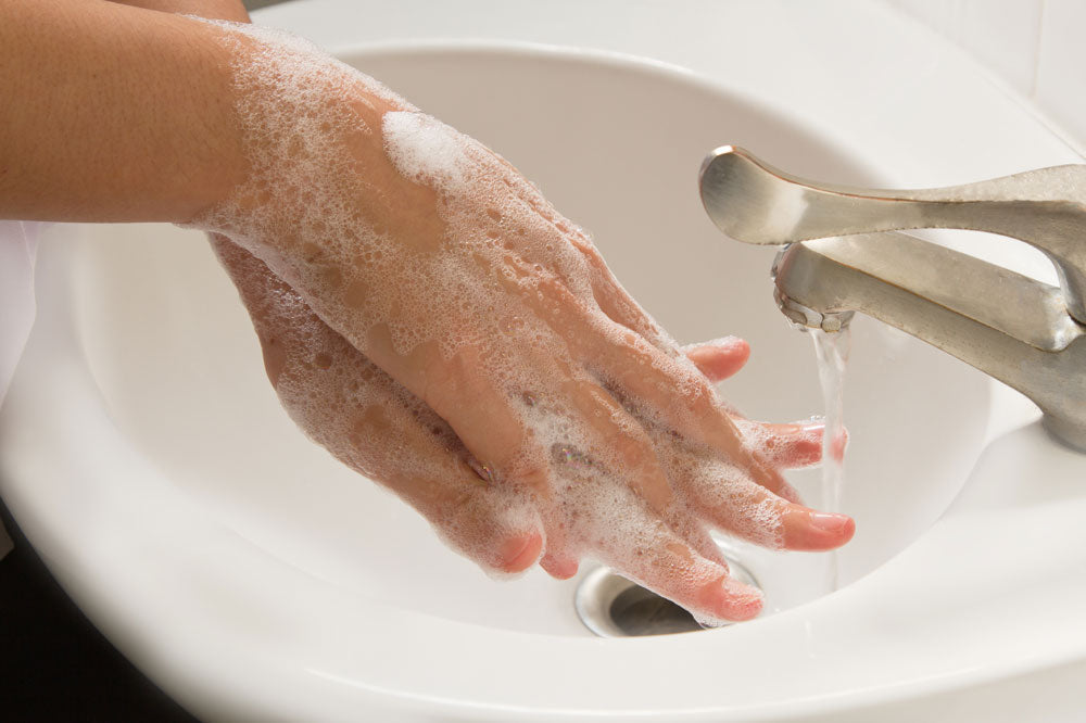Overwashing Hands and dryness