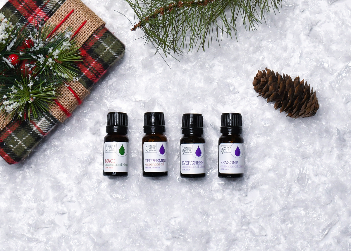 Holiday Scents Aromatherapy Gift Set by Source Vital