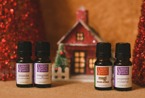 Holiday Aromatherapy Essential Oil Set