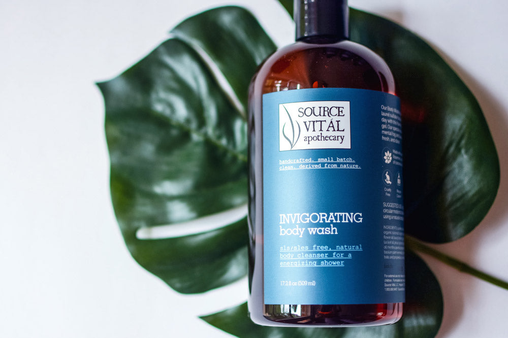 invigorating body wash by source vital apothecary