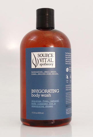New 90% Organic Invigorating Body Washes by Source Vital Apothecary