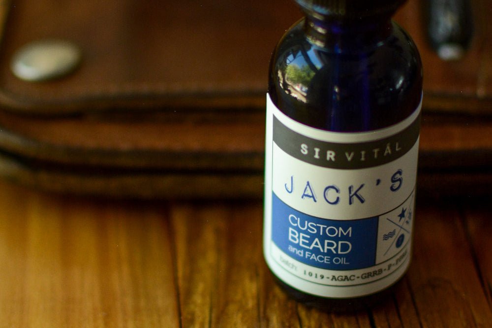 custom beard oil formulated for you buy sir vital