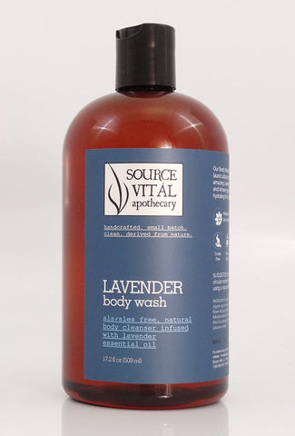 New 90% Organic Lavender Body Washes by Source Vital Apothecary