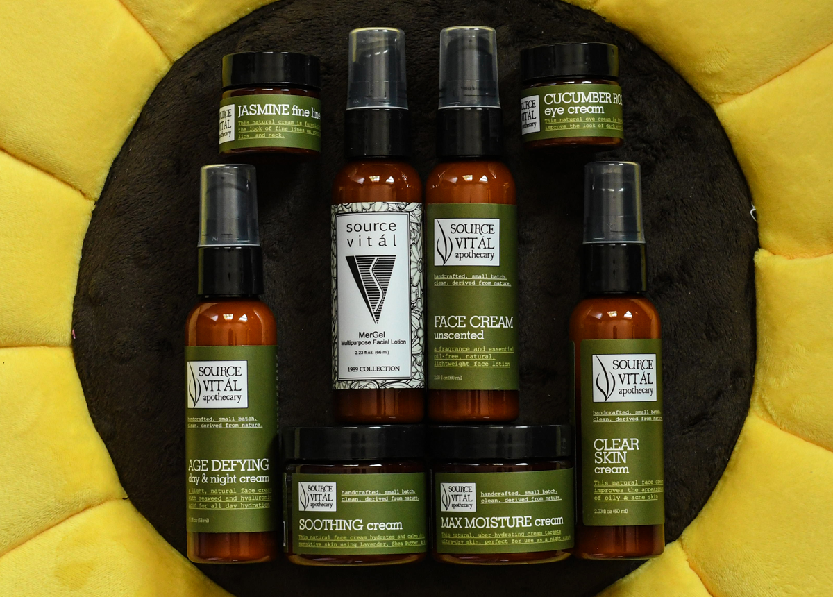 facial creams, lotions and moisturizers by Source Vitál