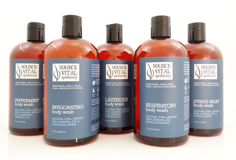 New and Improved 90% Organic Body Washes by Source Vital Apothecary