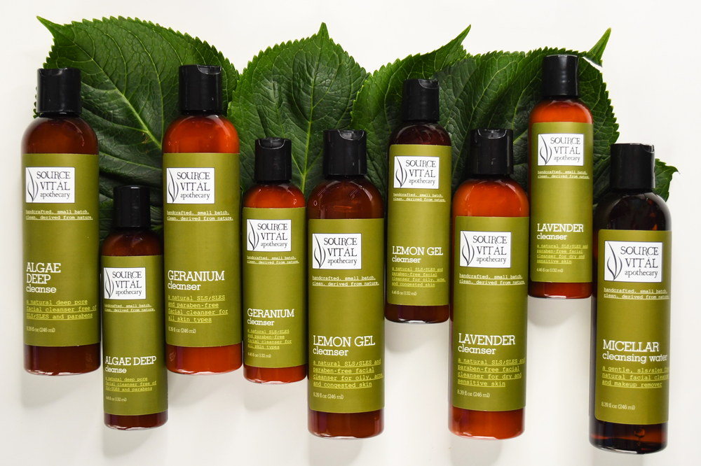All-Natural Facial Cleansers by Source Vitál Apothecary