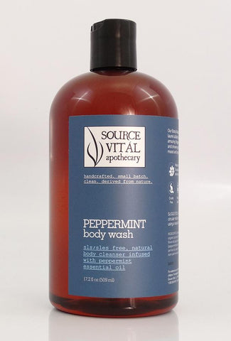 New Peppermint 90% Organic Body Wash by Source Vital Apothecary