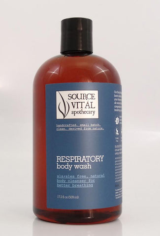 New  90% Organic Respiratory Body Washes by Source Vital Apothecary
