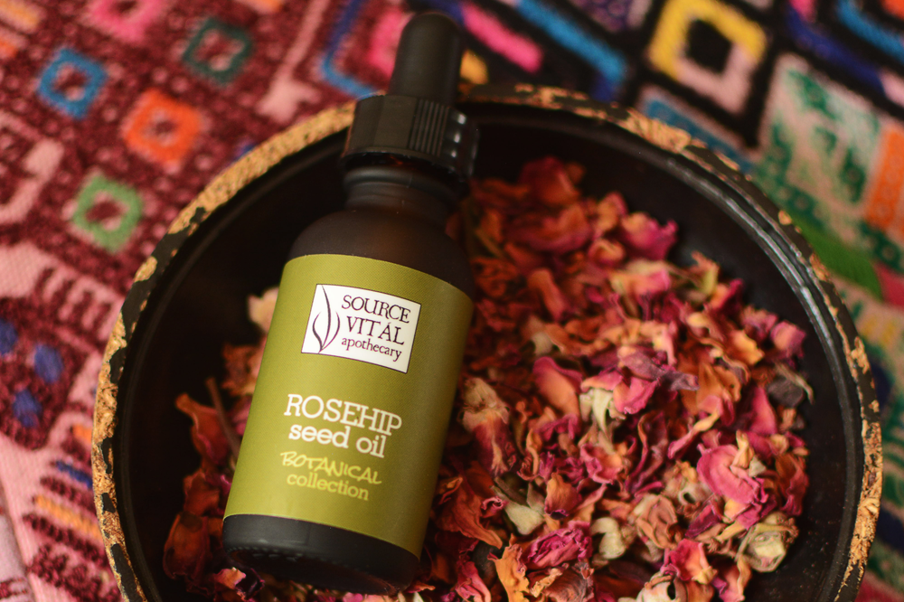 Organic Rosehip Seed Oil by Source Vital Apothecary