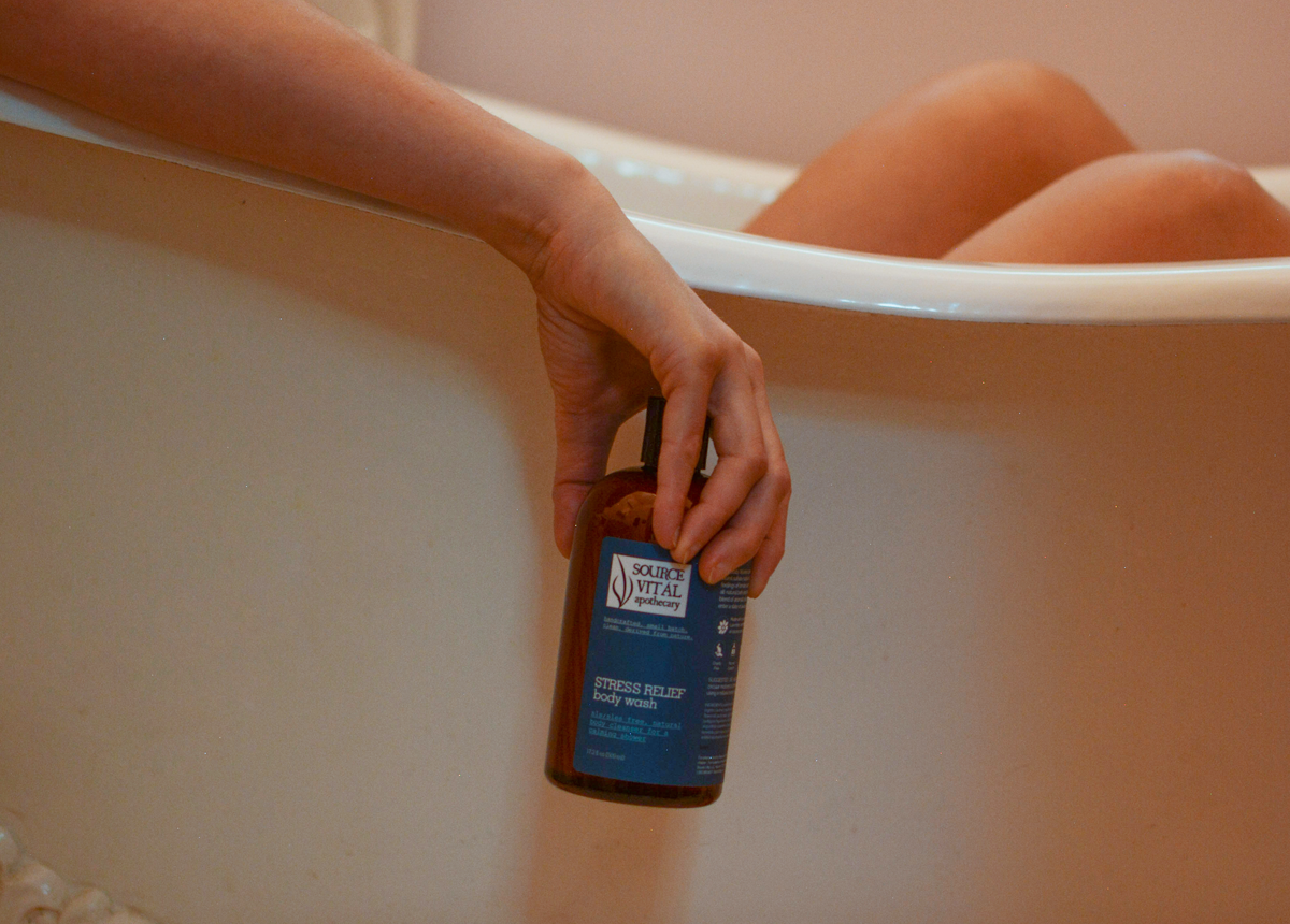 Stress Relief Body Wash by Source Vital
