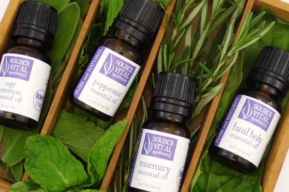 Kitchen Herbs Essential Oils by Source Vital