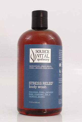New 90% Organic Stress Relief Body Washes by Source Vital Apothecary