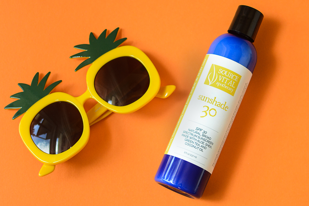 Summer Vibes with Source Vital Apothecary Sunshade 30 mineral sunscreen for the body