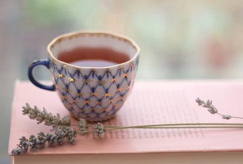 Drink tea to relax