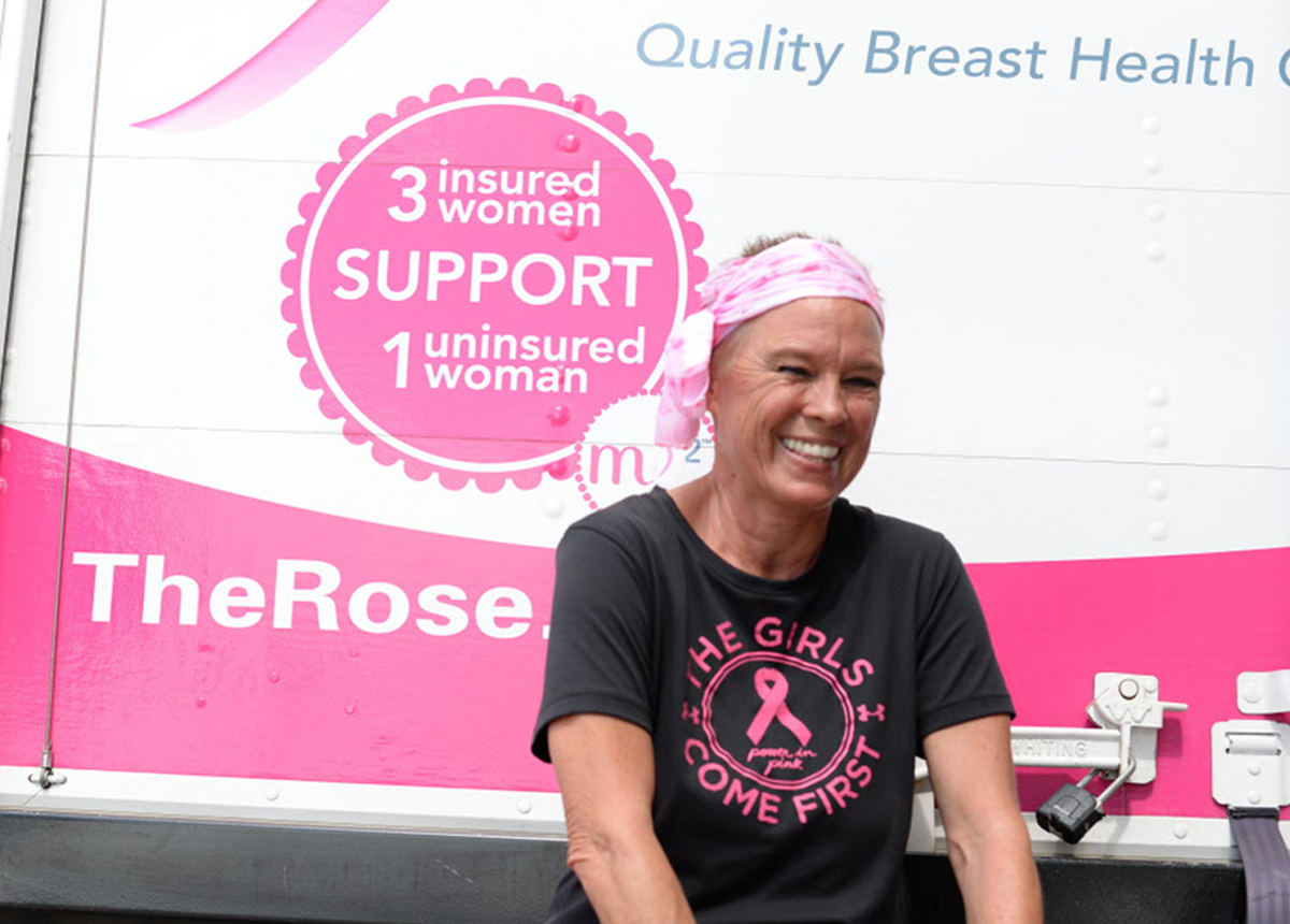 The Rose - Providing breast cancer prevention screenings for all women